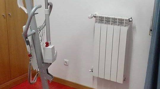 """Novo equipamento """"grua de transferência para idosos"""""""